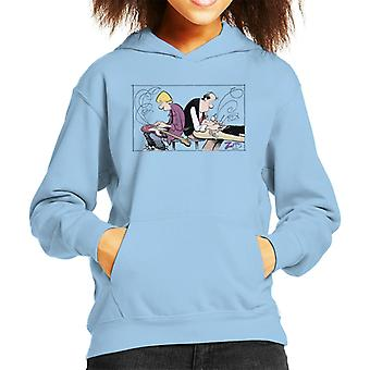 Zits Jeremy And Pierce Kid's Hooded Sweatshirt