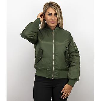 Bomber jacket - Bomber Jacket - Bomber Jacket -Green