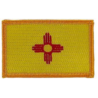 التصحيح Ecusson برود العلم نيو مكسيكو الولايات المتحدة الأمريكية