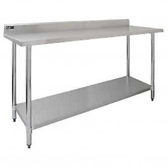 Commercial Stainless Steel Catering Table - 6ft Wide