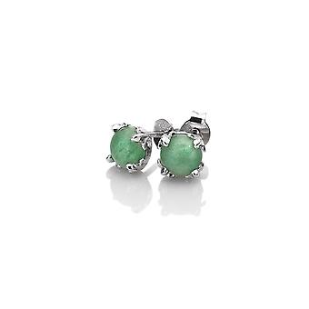 Anais Hot Diamonds Anais March Green Aventurine Earrings AE003