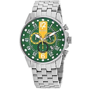 Roberto Bianci Men's Messina Green Dial Uhr - RB70982