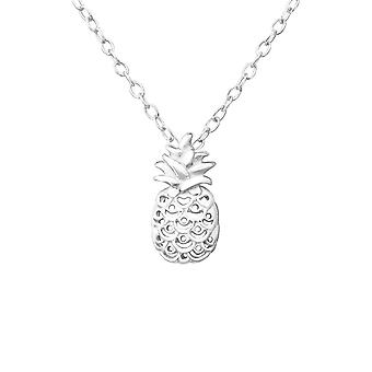 Pineapple - 925 Sterling Silver Plain Necklaces - W37611X