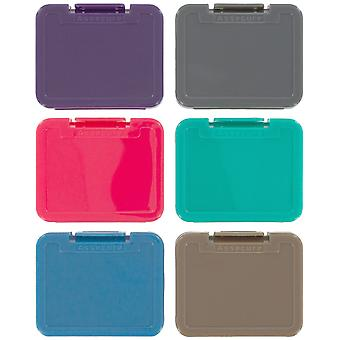 Zedlabz pro plastic sd memory card case - multi colour pack limited edition 6 pack
