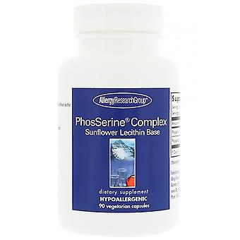 PhosSerine Complex 90 Vegetarian Capsules - Allergy Research Group