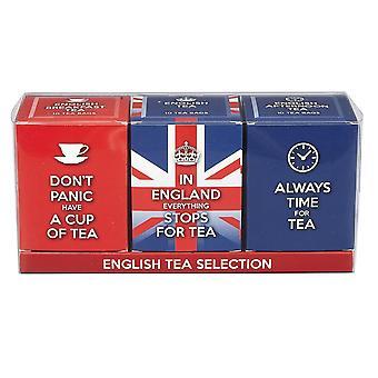 Inglês chá slogans Triple chá caixa Gift Pack