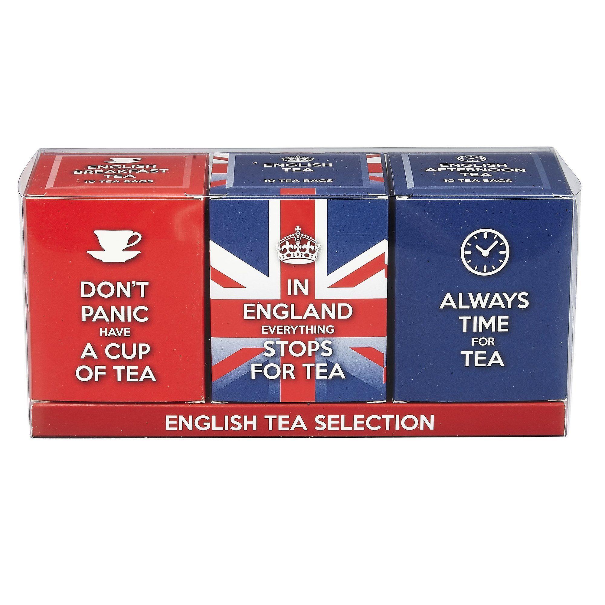 English tea slogans triple tea carton gift pack