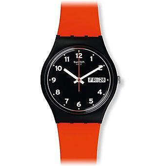 Swatch GB754-quartz analogue watch unisex silicone wrist watch