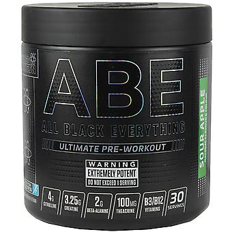 Applied Nutrition All Black Everything Pre-Workout Sour Apple 315g
