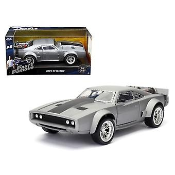 Dom\'s Ice Charger \Fast & Furious\ F8 Movie 1/24 Diecast Model Car by Jada