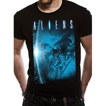 Aliens Reine Alien James Cameron Film Officiel T-Shirt