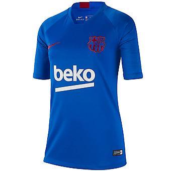 2019-2020 Barcelona Koszulka treningowa Nike (niebieska)-dla dzieci
