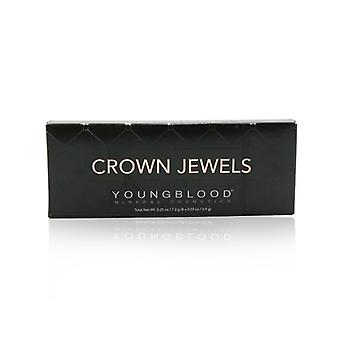 Youngblood 8 Well Eyeshadow Palette - # Crown Jewels 8x0.9g/0.03oz