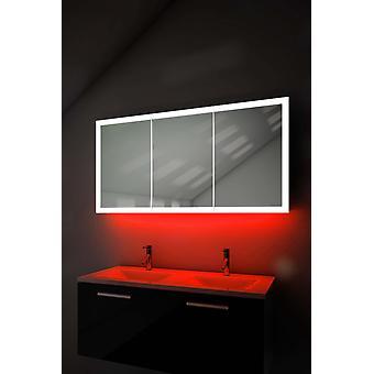 Caja de borde con luz ambiental con demist, afeitadora, sensor k467