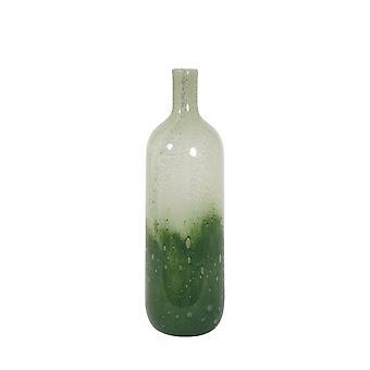 Light & Living Vase 11.5x37.5cm Pollone Glass Green-Light Green