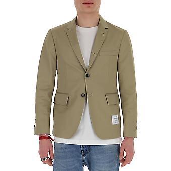 Thom Browne Mju426a03788275 Men's Beige Cotton Blazer