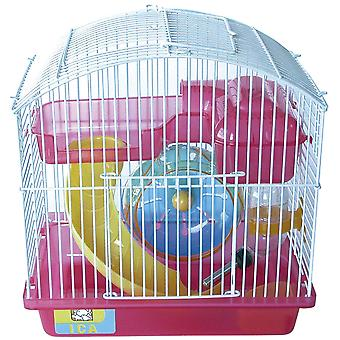Ica Play Garden Metálica Curva Pequeño (Small pets , Cages and Parks)