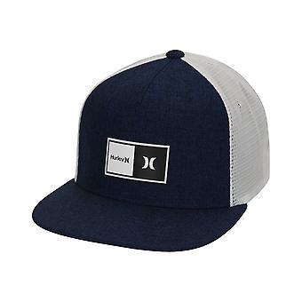Hurley Men's Trucker Cap ~ Natural 2.0 blue