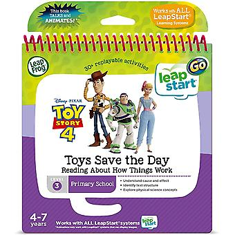 Leapfrog Toy Story 4 Activity Book Learning Reading Book LeapStart system