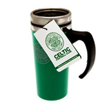 Celtic FC Official Football Aluminium Travel Mug