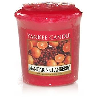 Yankee Candle Votive Sampler Mandarin Cranberry
