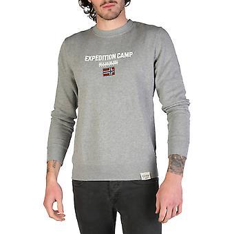 Napapijri Original Men All Year Sweatshirt - Grey Color 34667