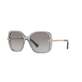 Bvlgari BV8217B 547511 Transparente grau/grau Farbverlauf Sonnenbrille