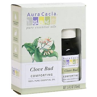 Aura cacia 100% pure essential oil, clove bud, 0.5 oz