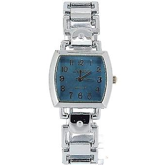 Het Olivia collectie dames Square Blue Dial armband Strap Dress horloge COS49