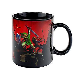 Legend of Zelda, heat changing mug-battle, Black