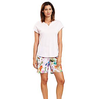 Rösch 1203118-15646 Women's New Romance Fancy Multicoloured Flower Pyjama Set