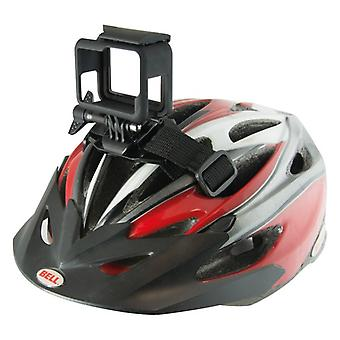 Support strap for Sports Camera for Bicycle Helmet KSIX Black