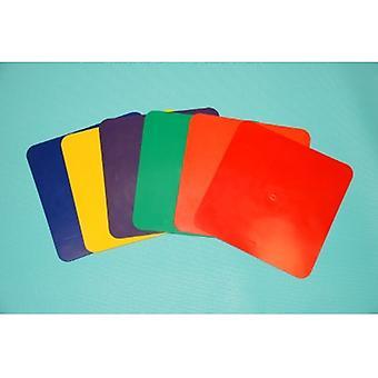 EVB-0047, quadratische Marker Set von 6 Farbe