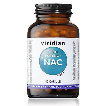 Viridian hoge potentie NAC Vegicaps 60 (349)
