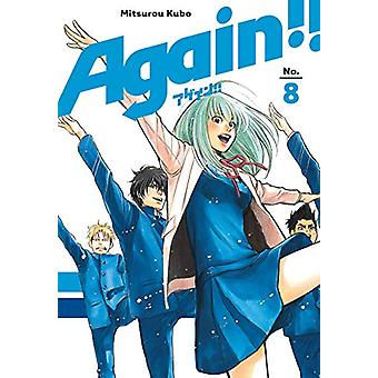 Again!! 8 by Mitsurou Kubo - 9781632367143 Book