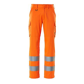 Mascot hi-vis work trousers 18879-860 - safe light, mens