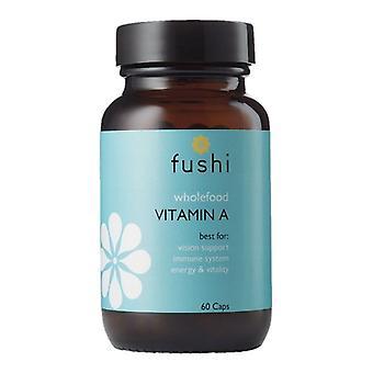 Fushi Välbefinnande Hel mat Vitamin A Veg Caps 60 (F0021255)