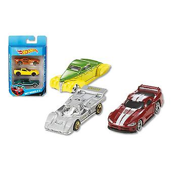 Vehicle Playset Hot Wheels Metal (3 Pc's)