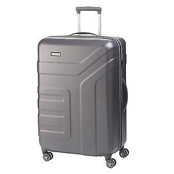 travelite Vector Trolley L, 4 rouleaux, 77 cm, 103 L, gris