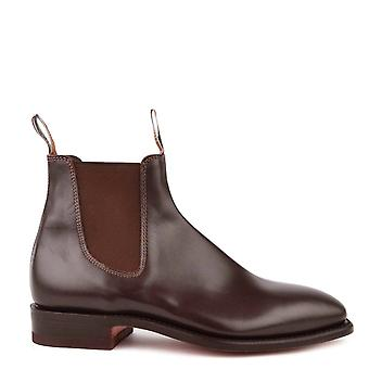 R.M. Williams Comfort Craftsman Chestnut Leather Chelsea Boots