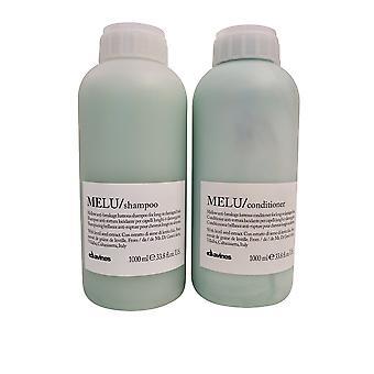 Davines Melu Shampoo & Conditioner Set 33.8 OZ Each