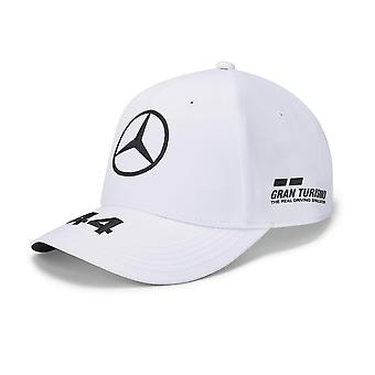 Mercedes AMG Petronas Lewis Hamilton førercap | Hvit | Voksen | 2020