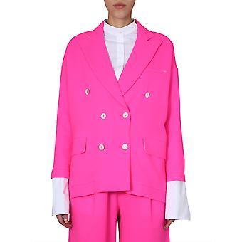Jejia 2839j1g00120501814 Damen's Fuchsia Wolle Blazer