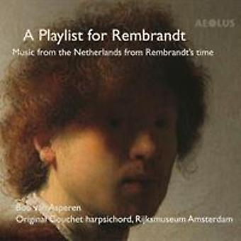 Playlist For Rembrandt [CD] USA import