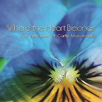 Curtis Macdonald - Where the Heart Belongs [CD] USA import