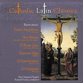 Cathedral Singers - Catholic Latin Classics [CD] USA import