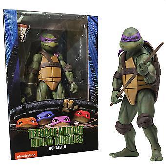 """Teenage Mutant Ninja Turtles 1990 Donatello 7"""" Action Figure"""