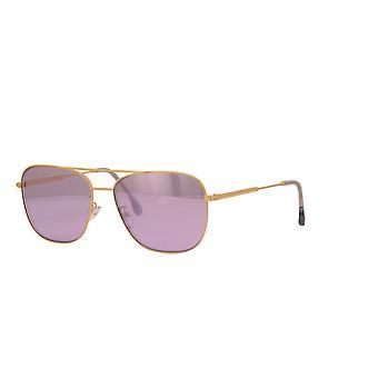 Paul Smith AVERY SUN PSSN007V2 04 Matte Gold - Slate/Purple Metallic Sunglasses