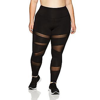 Brand - Core 10 Women's Icon Series - The Warrior Mesh Plus Size Leggi...