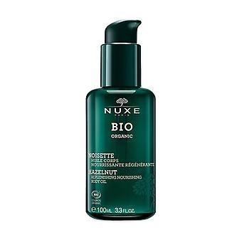 Bio Hazelnut Nourishing Regenerating Body Oil 100 ml of oil